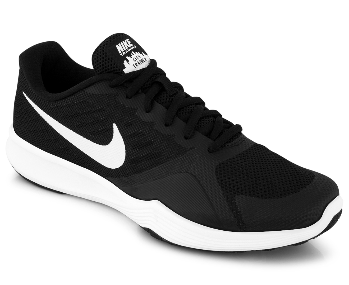 bbd224f89cf2 Nike Women s City Trainer Shoe - Black White