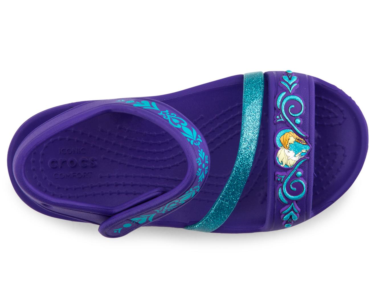 12162806608a Crocs Kids  Lina Frozen Sandal - Ultraviolet