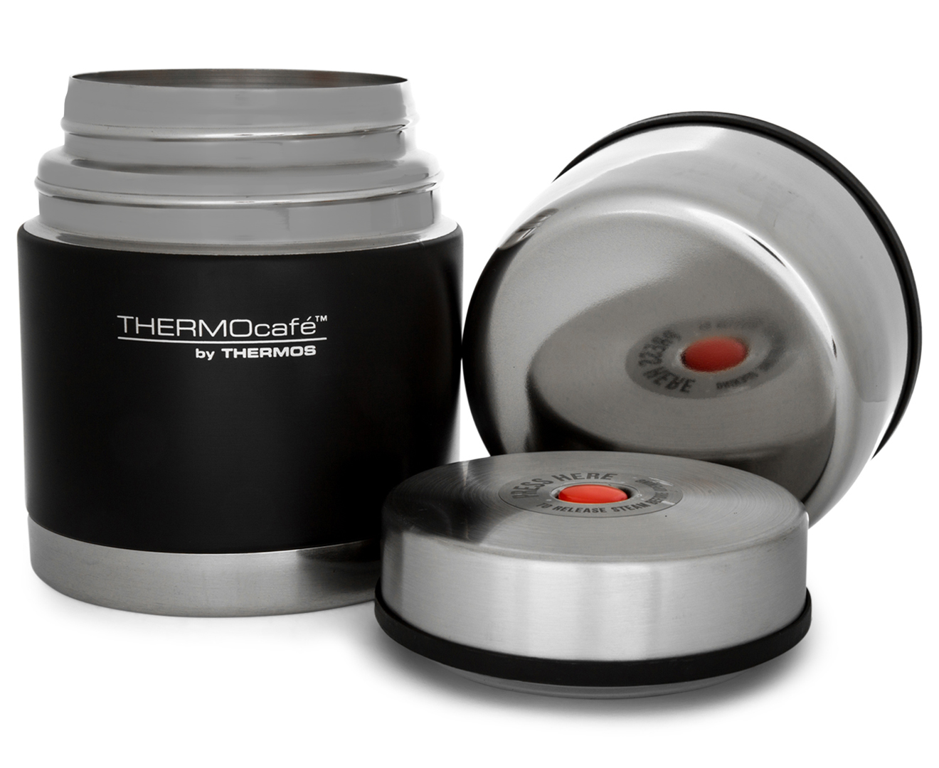 Thermos Thermocafe Stainless Steel Vacuum Insulated Food ...