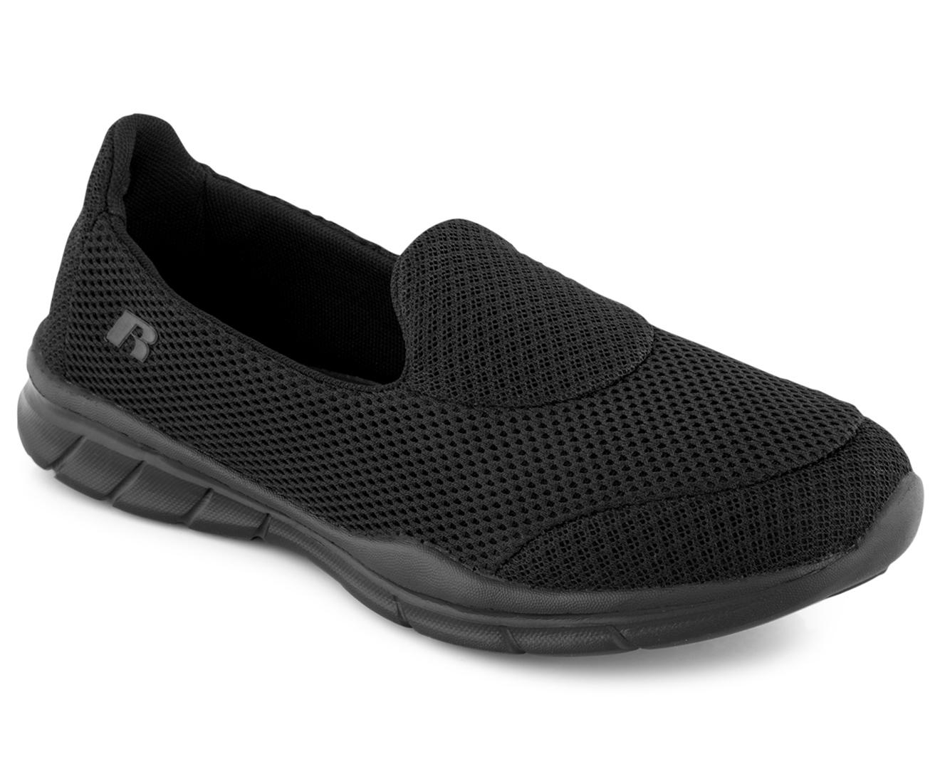 Russell Athletic Womenu0026#39;s Desiree Slip-On Shoe - Black | EBay