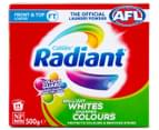 2 x Radiant Front & Top Loader Whites & Colours Laundry Powder 500g 2