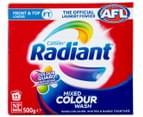 2 x Radiant Front & Top Loader Mixed Colour Laundry Powder 500g 2