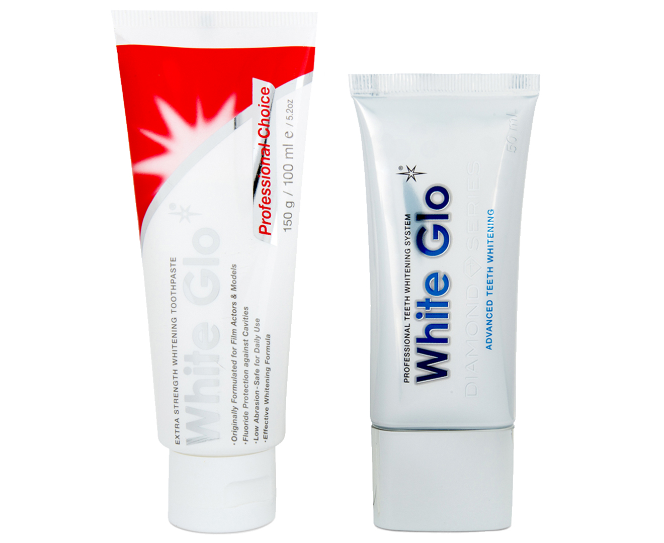 White Glo Diamond Whitening System Kit