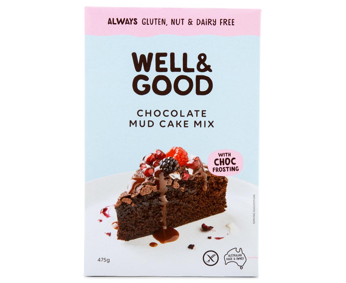 2 X Well Amp Good Gluten Nut Amp Dairy Free Chocolate Mud