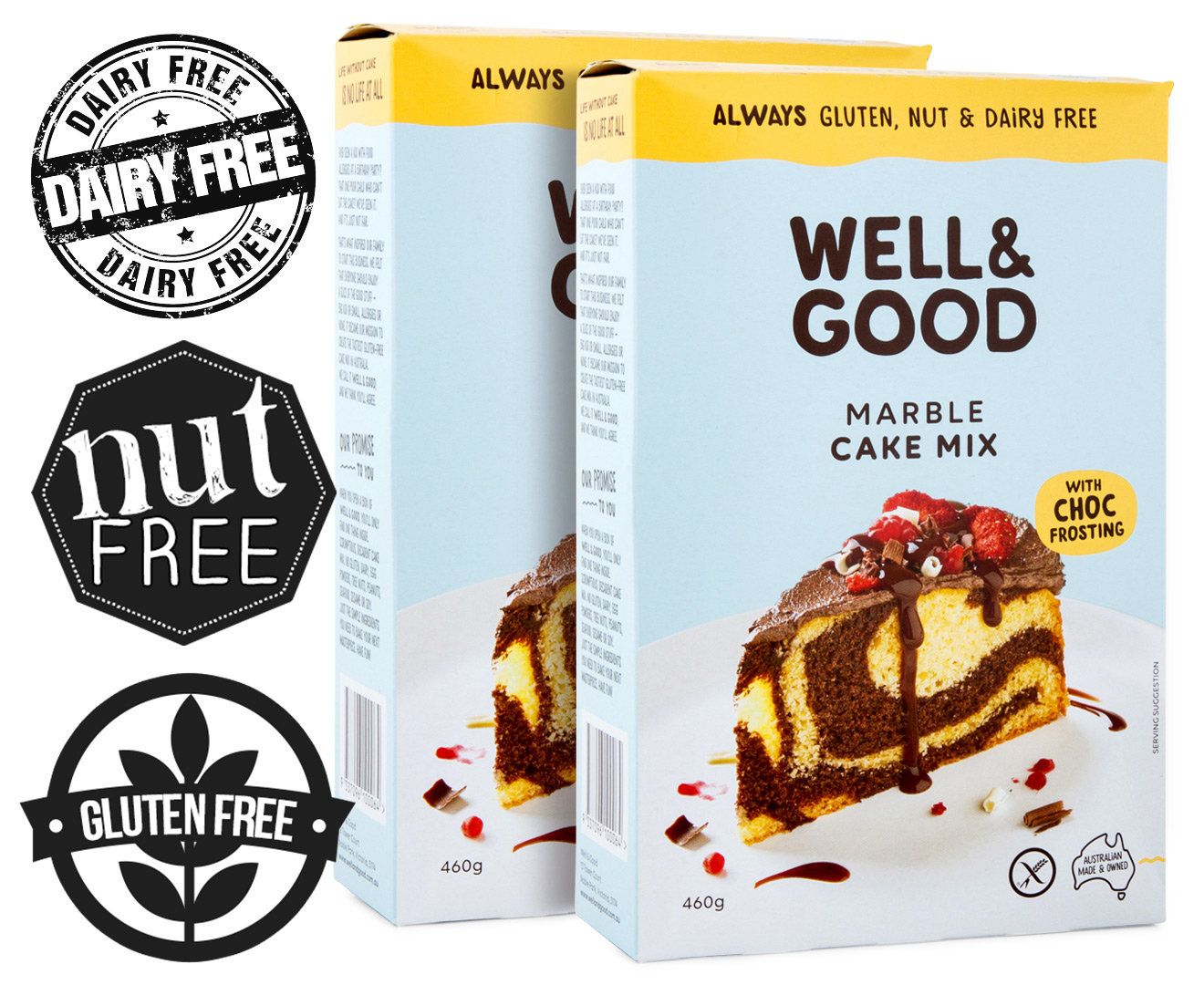 Gluten Dairy And Nut Free Cake Mix