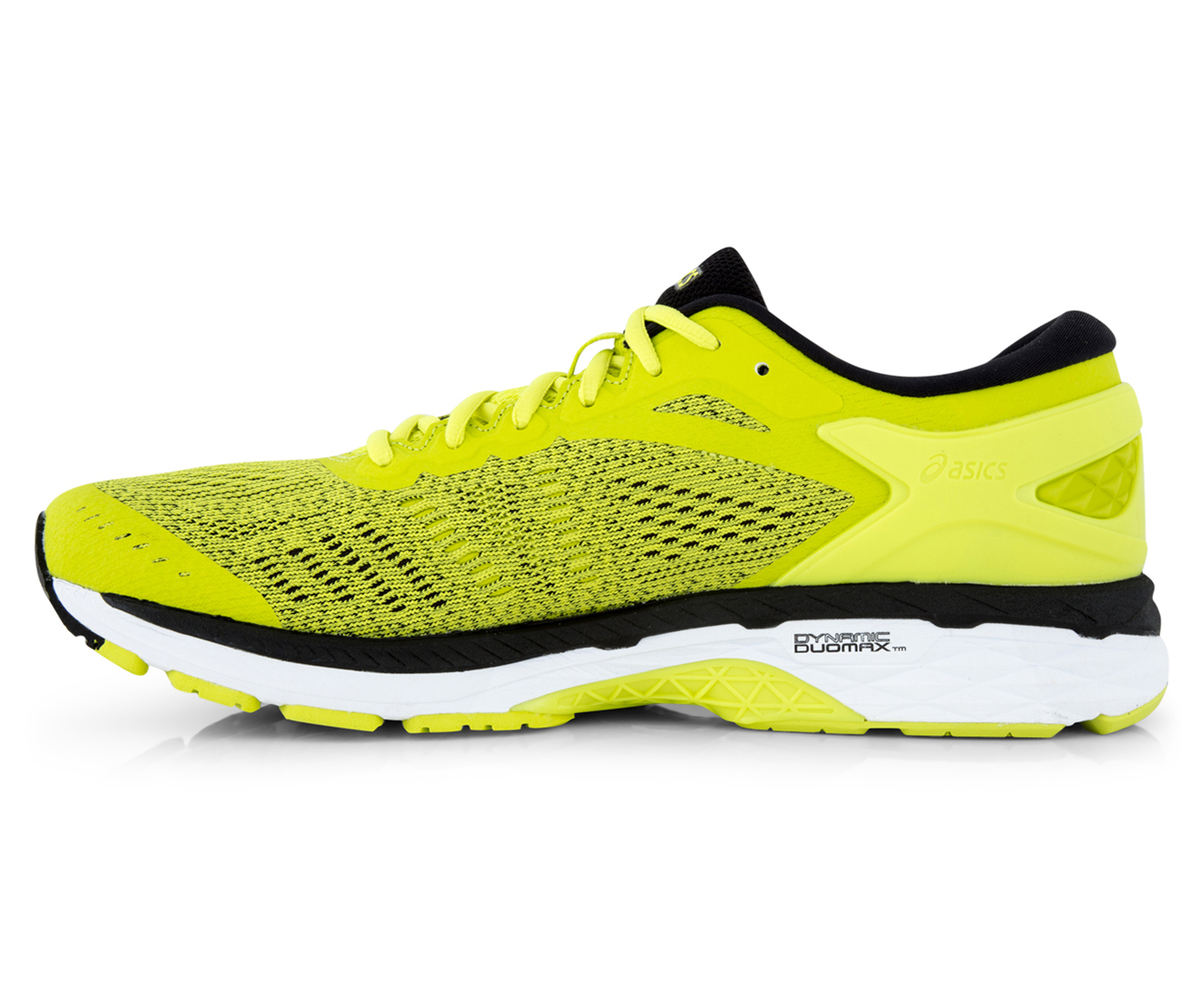 ASICS Men's GEL-Kayano 24 Shoe - Sulphur Spring/Black/White | Great daily  deals at Australia's favourite superstore | Catch.com.au