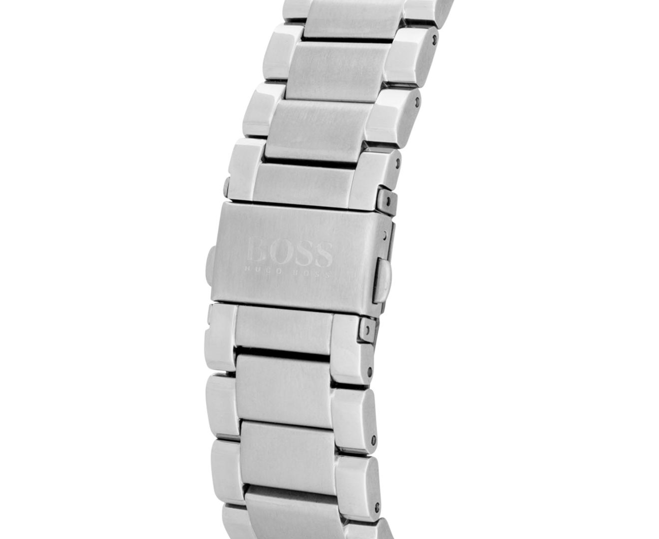 da01bb86b58 Hugo Boss Men s 42mm Essence Stainless Steel Watch - White Silver ...