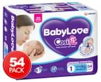 BabyLove Newborn Cosifit Nappies 0-5kg 54pk 1