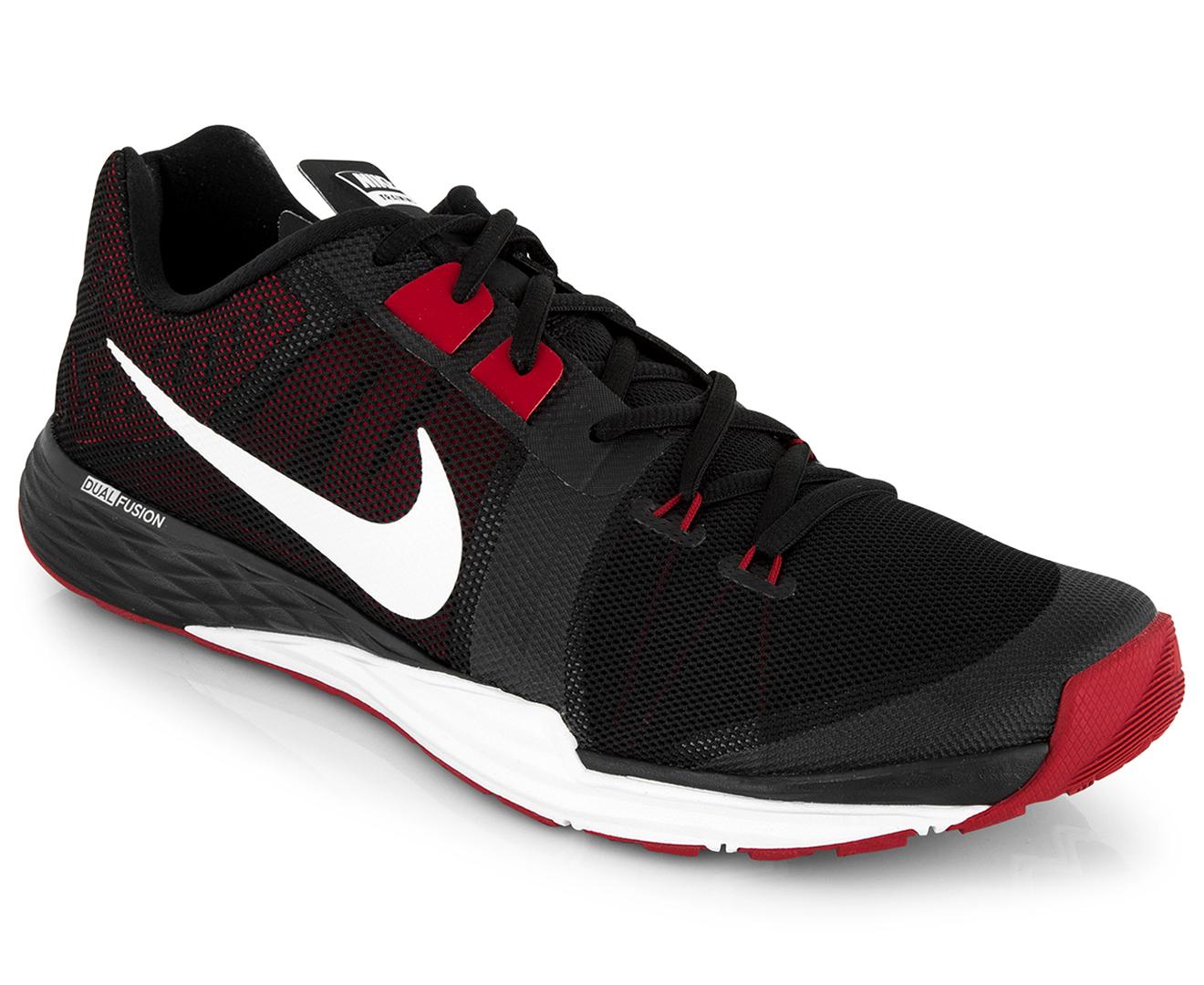 influenza jugador Mucama  Nike Men's Train Prime Iron DF Shoe - Black/White-Tough Red | Catch.com.au