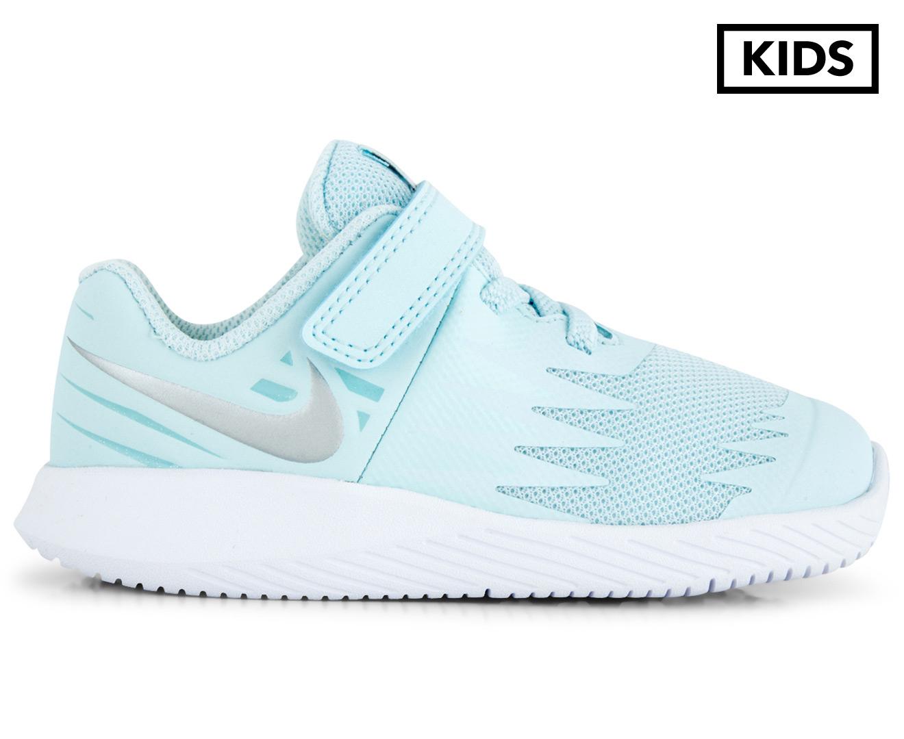 dentro de poco sobrino rechazo  Size 7c 907256-401 Glacier Blue GIRLS Nike Star Runner Shoes