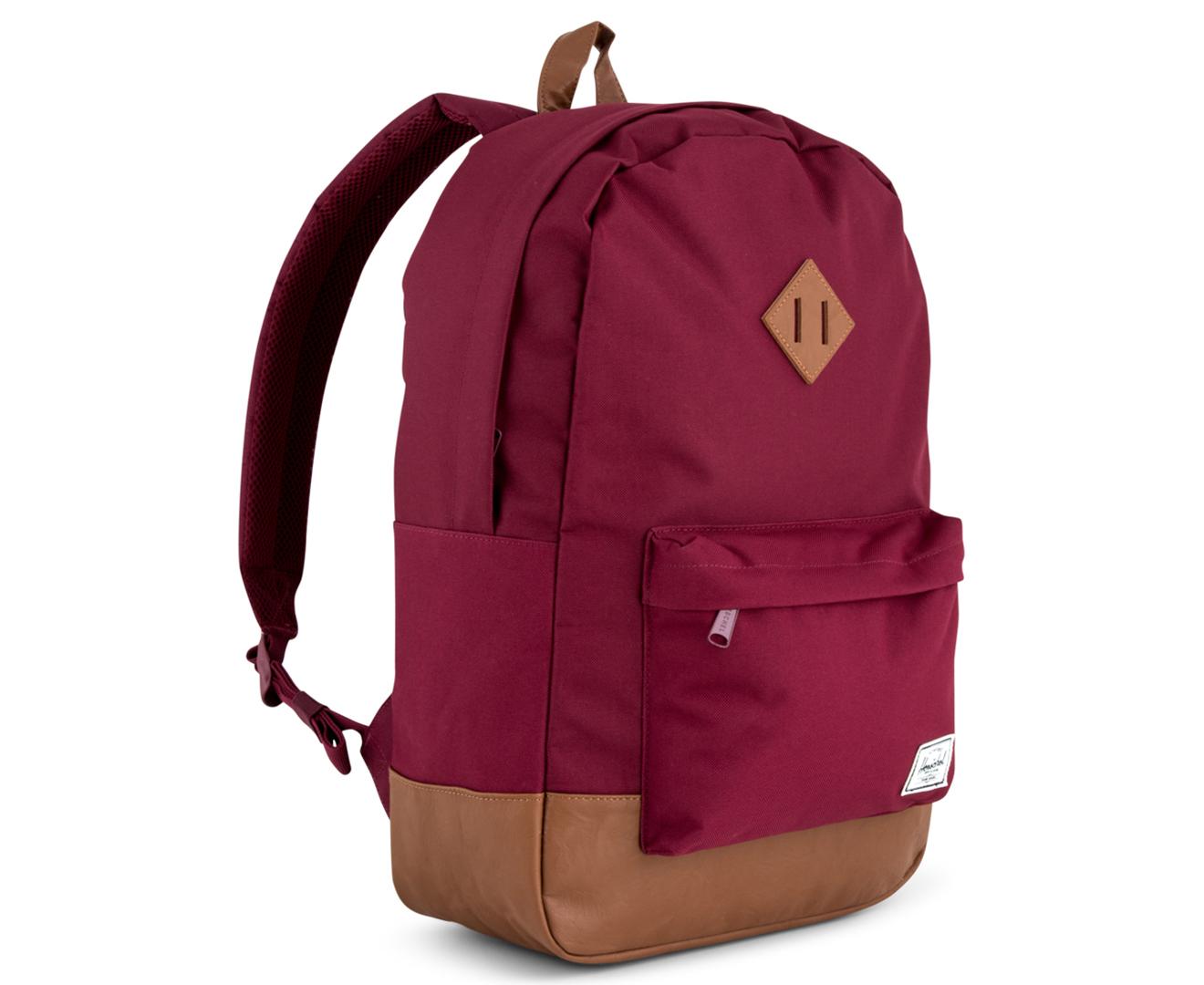679db5c4136 Herschel Supply Co. 21.5L Heritage Backpack - Windsor Wine Tan ...