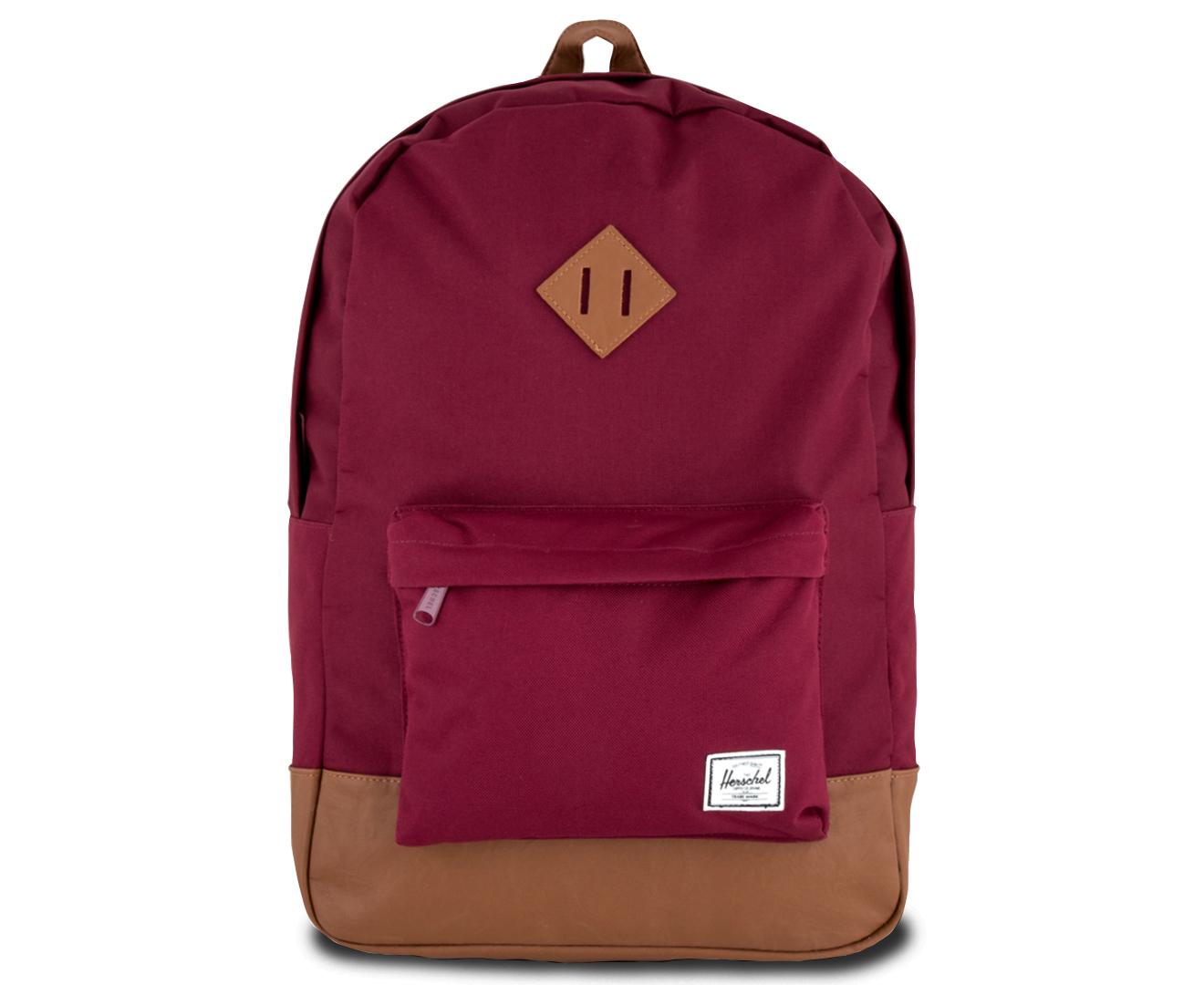 8016e36d0c Herschel Supply Co. 21.5L Heritage Backpack - Windsor Wine Tan ...