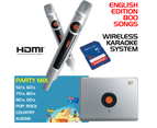Miic Star English Edition 800 Songs Wireless Karaoke System 1