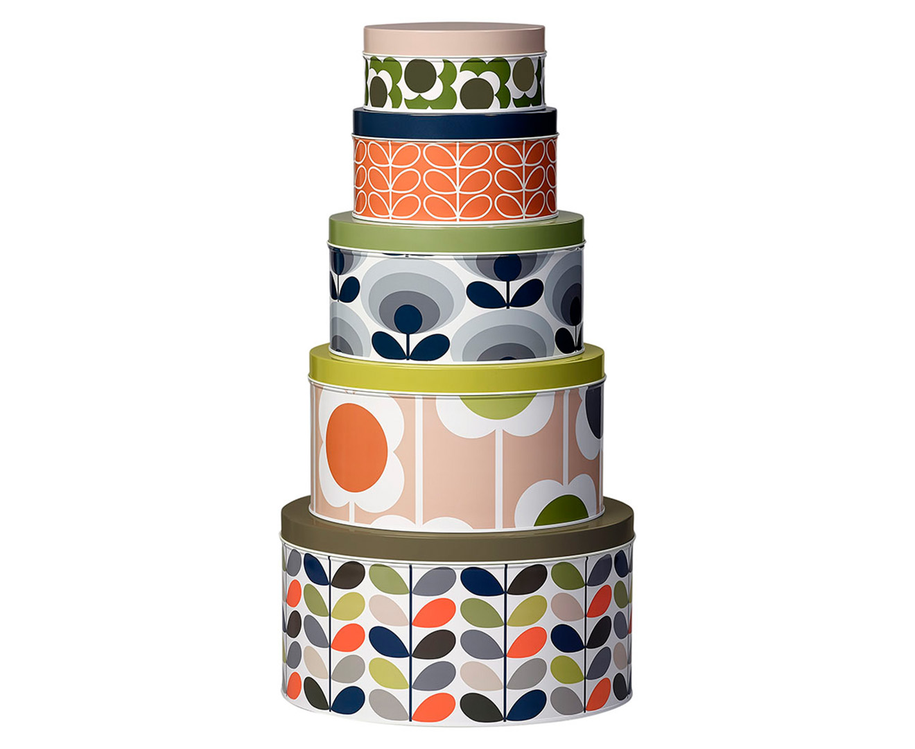 Orla Kiely Multi Stem Cake Tins