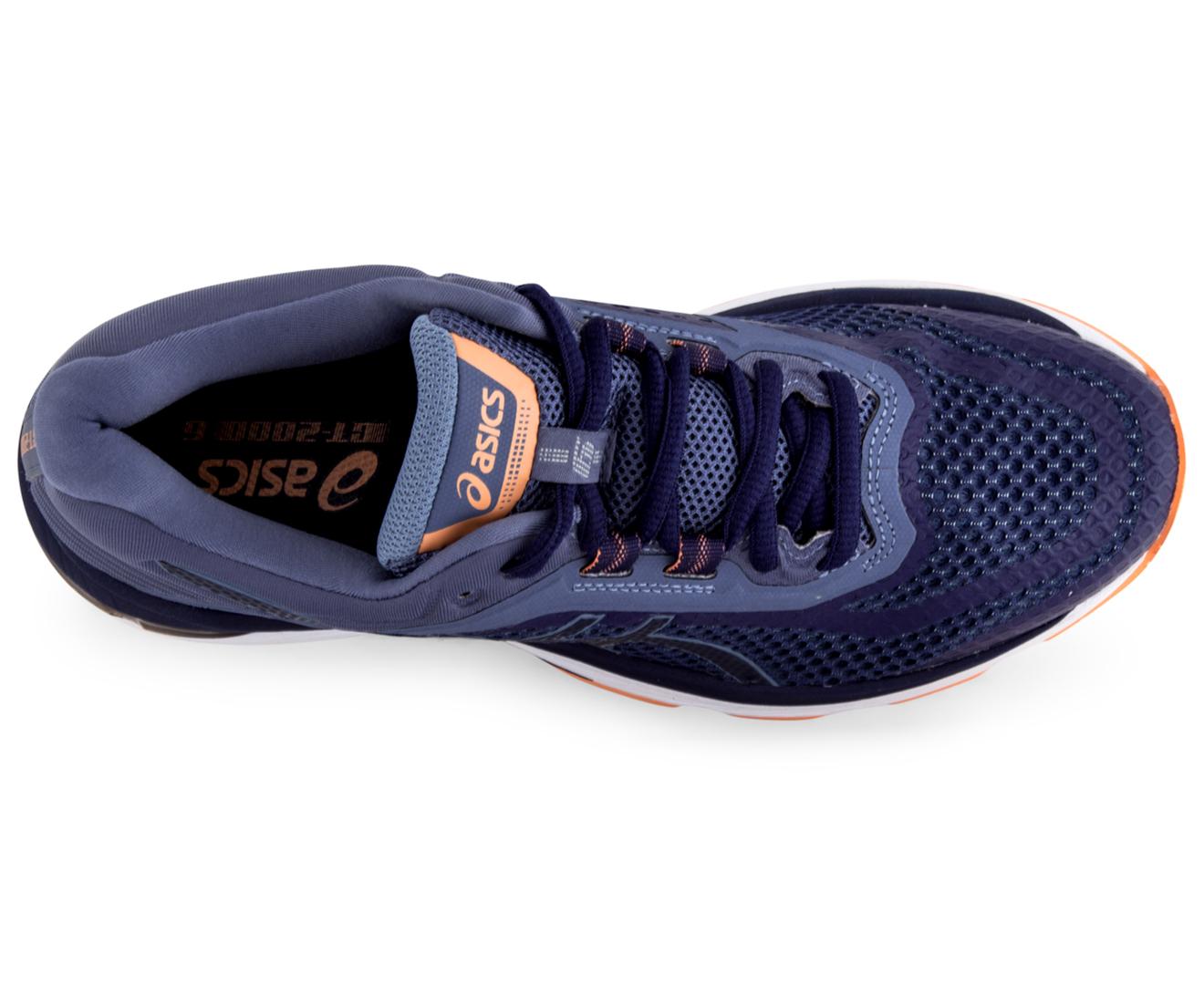 707aa5cea0 ASICS Women's GT-2000 6 Shoe - Indigo Blue/Indigo Blue/Smoke Blue