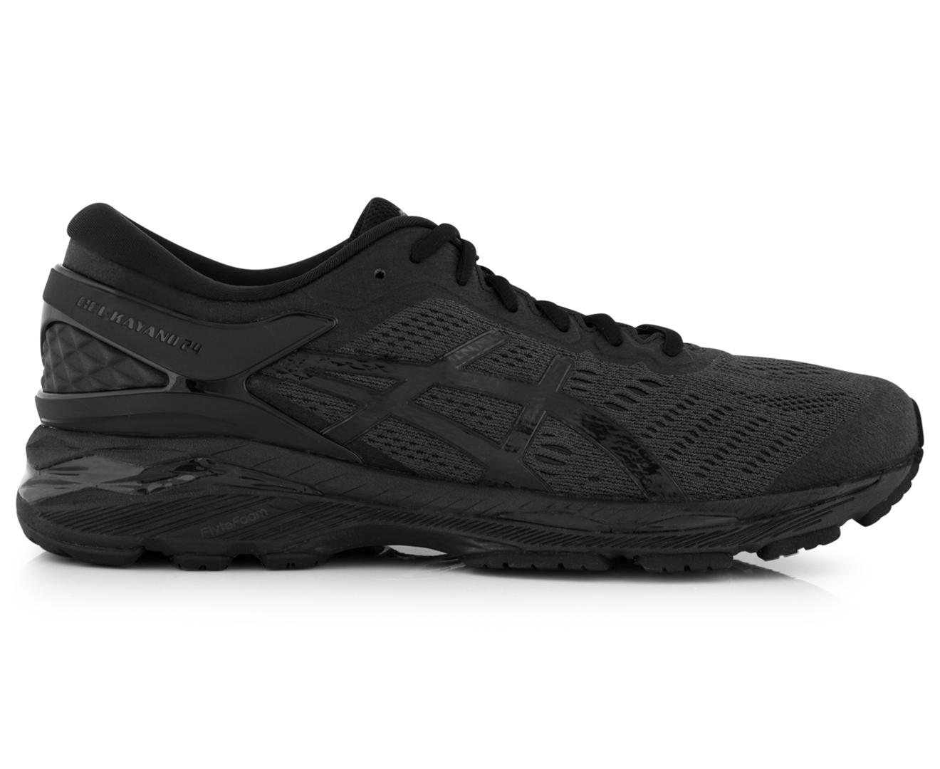 Asics Carbon Black Textile Shoe