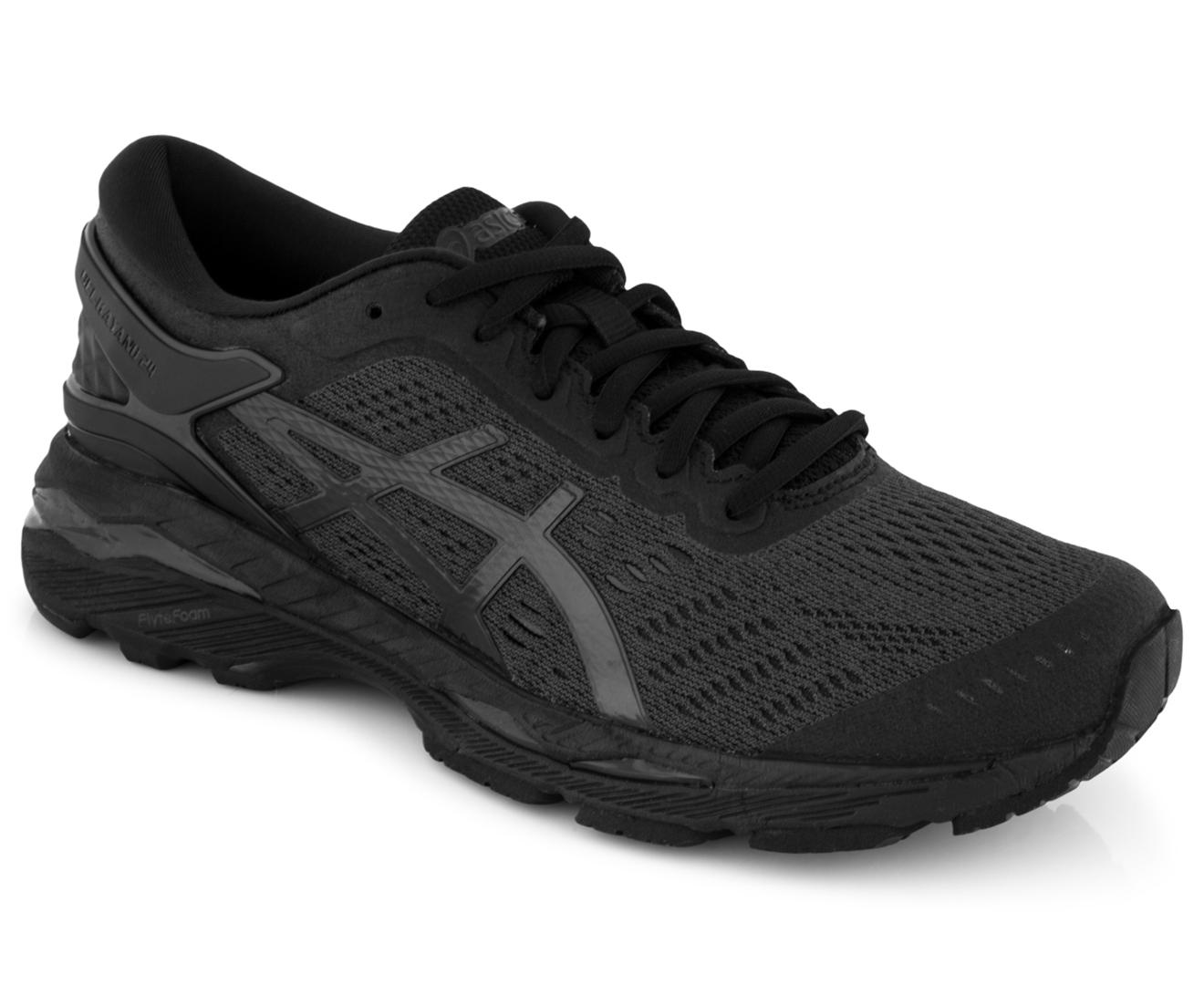 Asics Women S Gel Kayano 24 Shoe Black Black Carbon