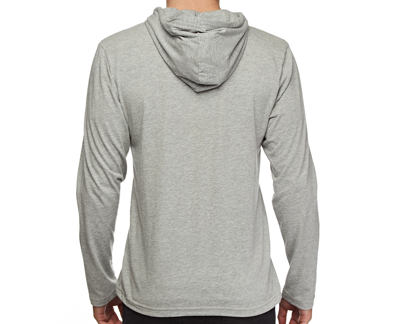 tommy hilfiger cotton classics fashion pull over hoodie grey heather ebay. Black Bedroom Furniture Sets. Home Design Ideas