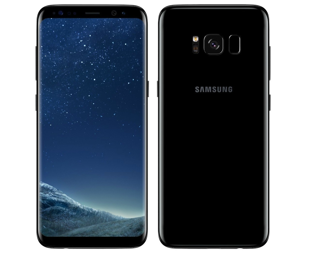 Samsung Galaxy S8 Plus G955FD 4G 64GB Dual Sim (Stand-by) UNLOCKED -  Midnight Black