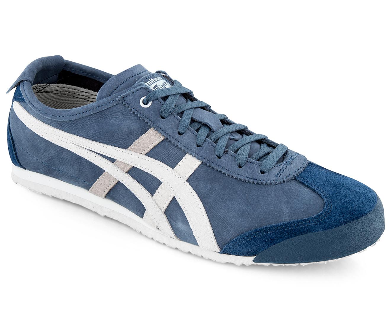 hot sale online 073d7 8e295 Onitsuka Mexico 66 Shoe - Dark Blue/Vaporous Grey
