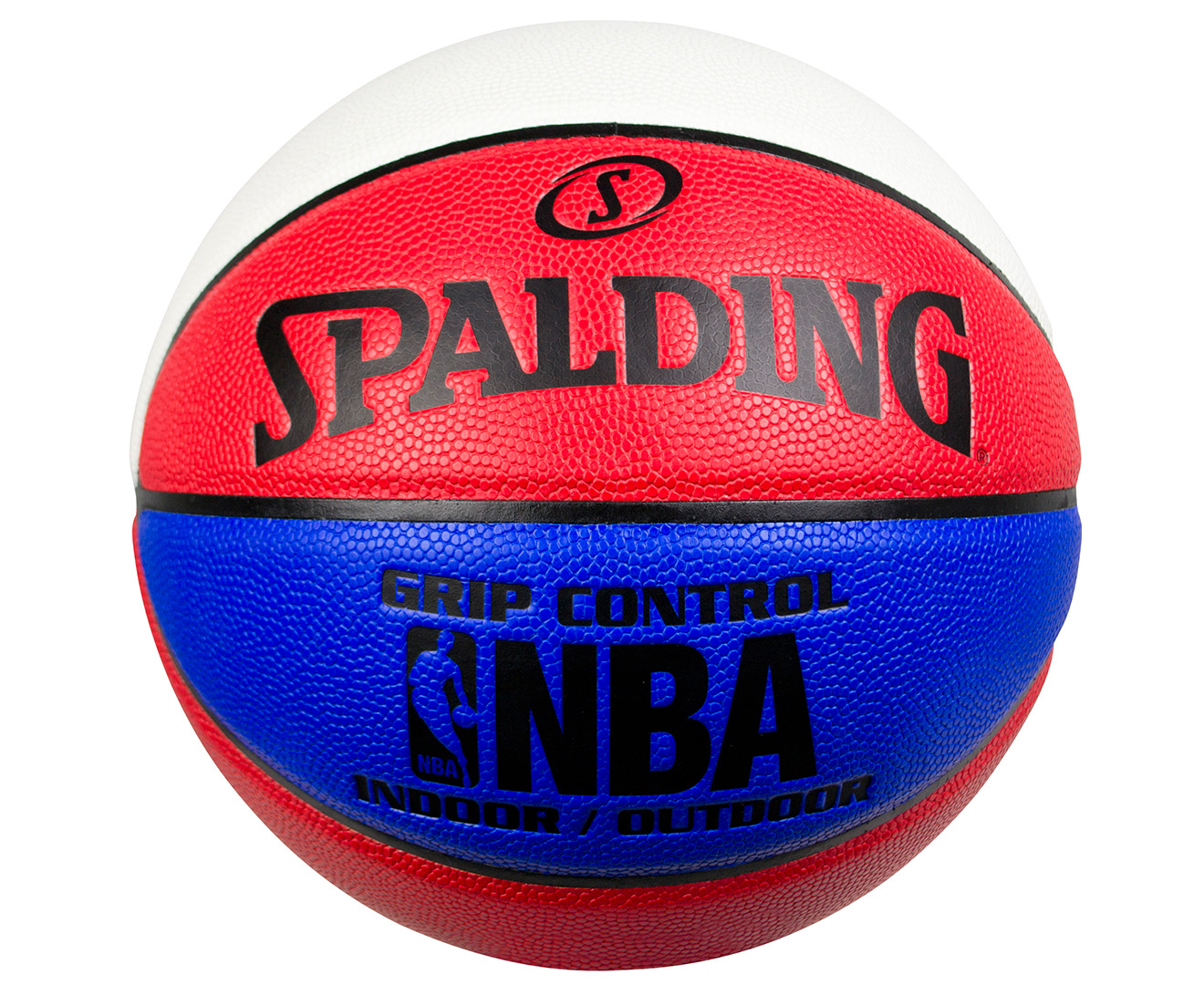 880fb7ce91f Spalding Size 6 NBA Grip Control In Out Basketball - Red White Blue ...