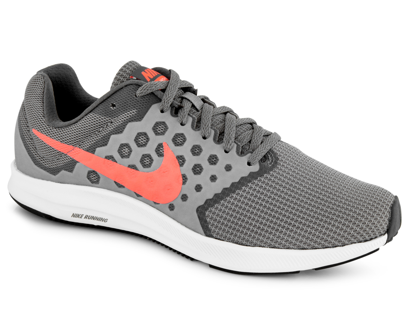 09aab24f193 Nike Women s Downshifter 7 Shoe - Cool Grey Lava Glow Dark Grey ...