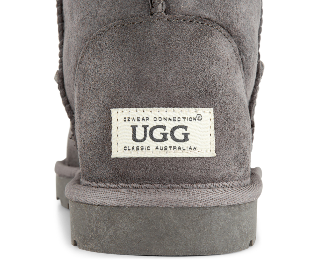 e402909e8fd OZWEAR Connection Classic 3 4 Ugg Boot - Charcoal