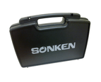 Sonken 700D-5 Pro UHF Wireless Microphones (2) and Receiver Unit + Case 3