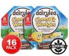 2 x Dairylea Cheestik Wedges 160g 8pk 1