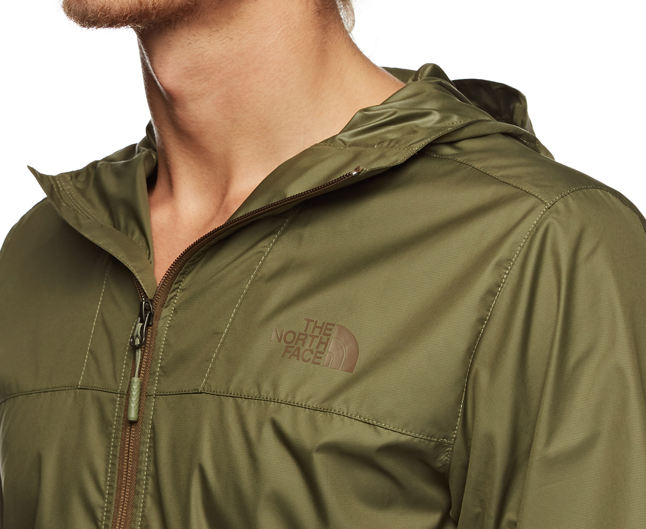 The North Face Men's Cyclone 2 Hoodie Four Leaf Clover