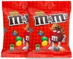 2 x M&M's Peanut Butter 144g 1