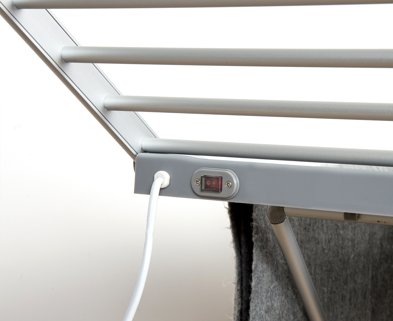 Heated 230W Electric Drying Clothes / Towel Rack