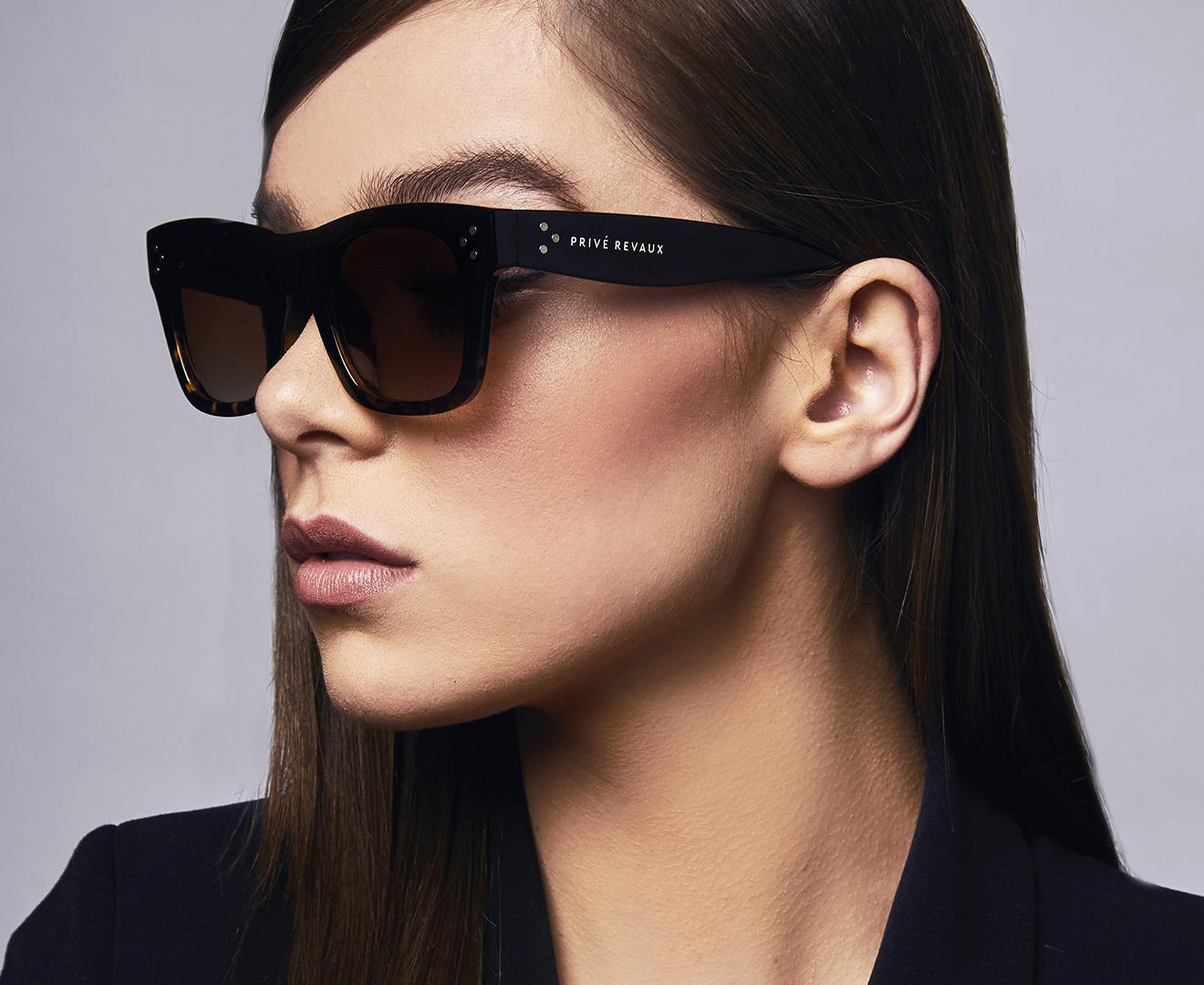 0f13523b59a09 Privé Revaux Women s The Classic Polarised Sunglasses - Black ...
