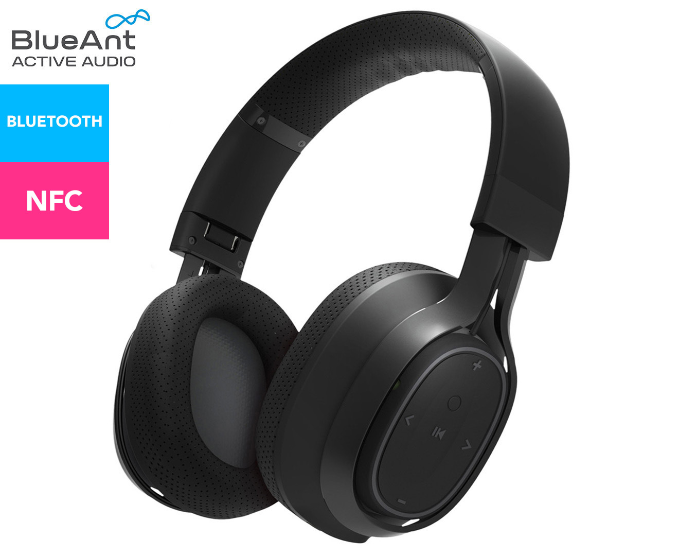 c99ce9cc5ac Blueant Pump Zone Wireless Headphones - Black   Catch.com.au