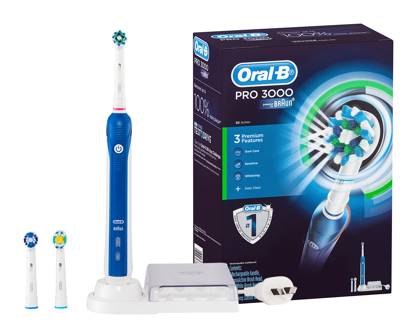 Oral-B-Pro-3000-Rechargeable-Electric-Toothbrush-Kit