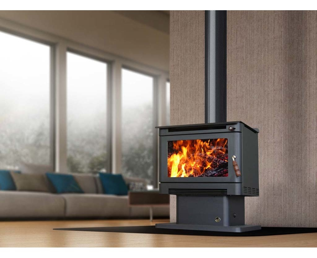 Ecomaxx Premium Wood Heater Metallic Black Catch Com Au
