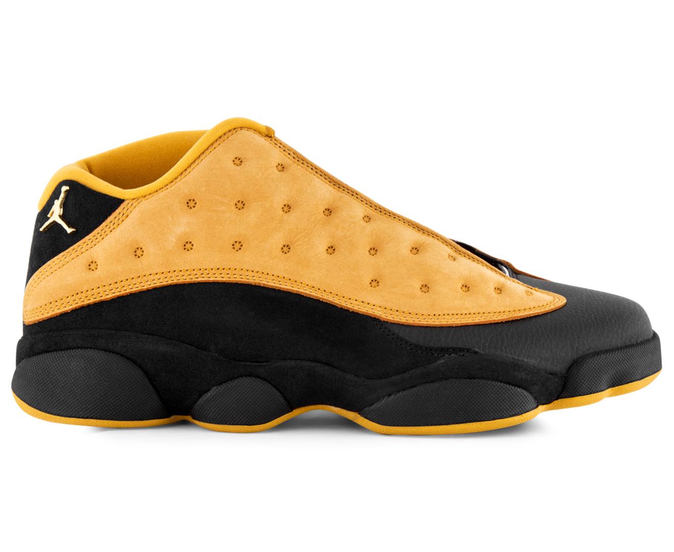 33f0146e3438 ... inexpensive nike mens air jordan 13 retro low shoe black chutney bb31f  3a109