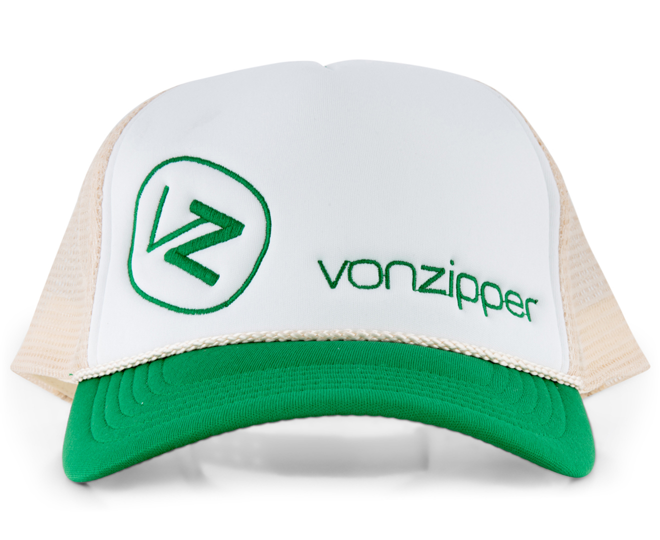 VonZipper Moby Two Tone Trucker Cap - Teal  9c8aa702c71