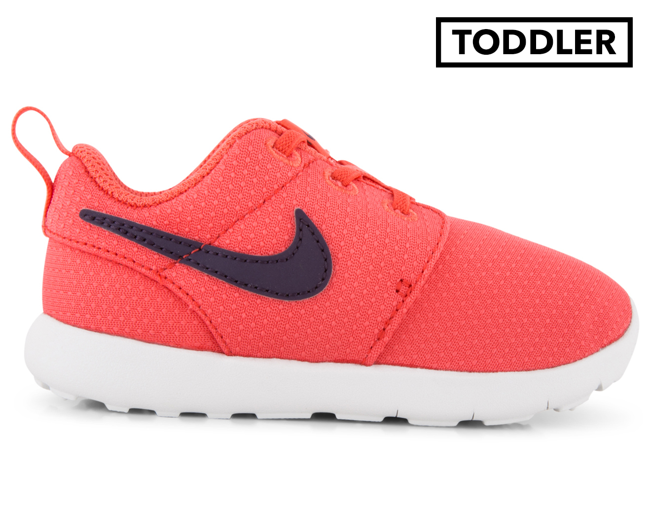 33a3e455f86ab ... low price nike toddler girls roshe one tdv shoe ember glow purple  dynasty pure ceb63 68c00