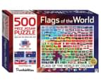 Puzzlebilities: Flags Of The World 500-Piece Jigsaw Puzzle 1