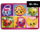 Castle Kids 100x150cm Shopkins Rug - Multi 1