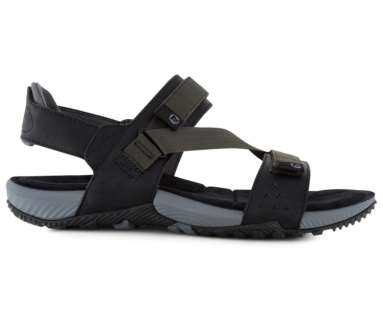 2107e4b9d95c Merrell Men s Terrant Strap Sandal- Black