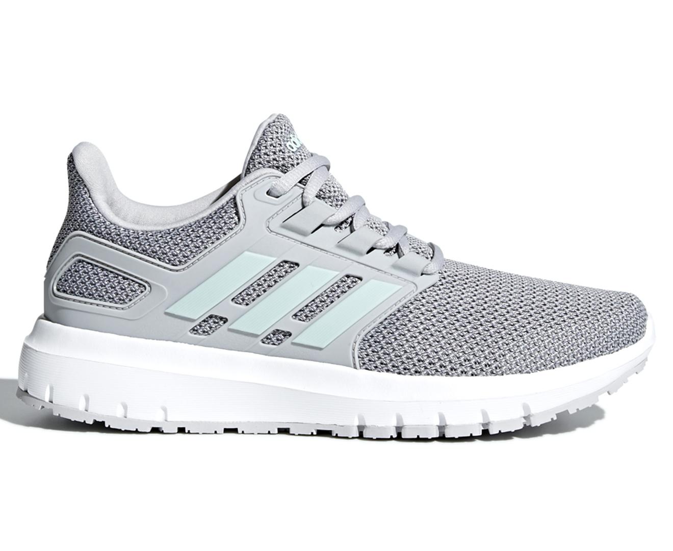 quality design f5b0a 57910 Adidas Womens Energy Cloud 2 Shoe - Grey TwoAsh Green  Catch