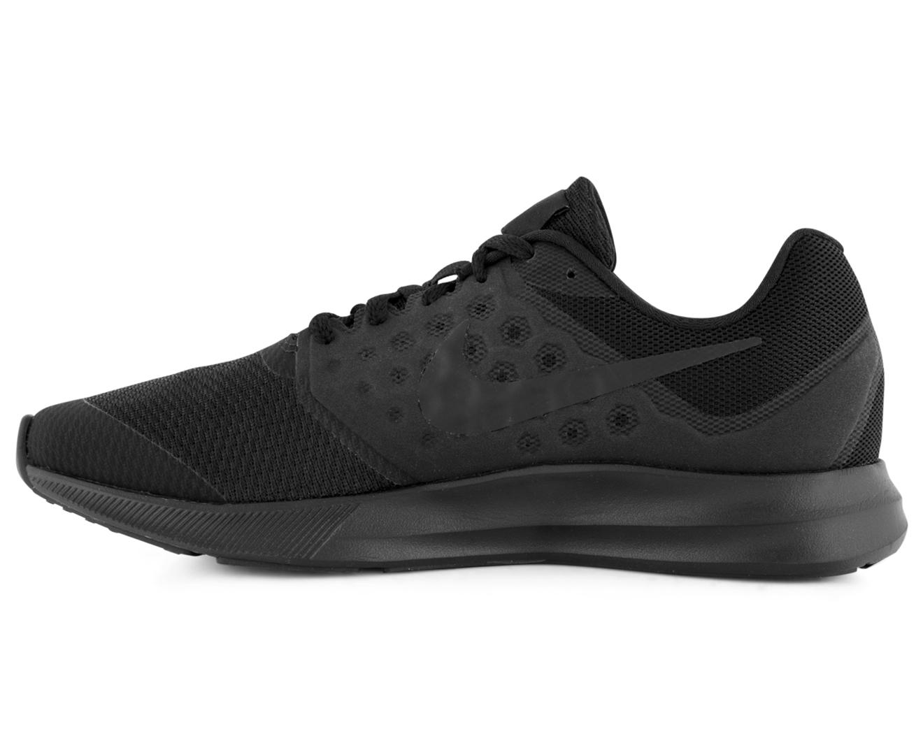 Nike Boys' Grade-School Downshifter 7 Shoe - Black/Black