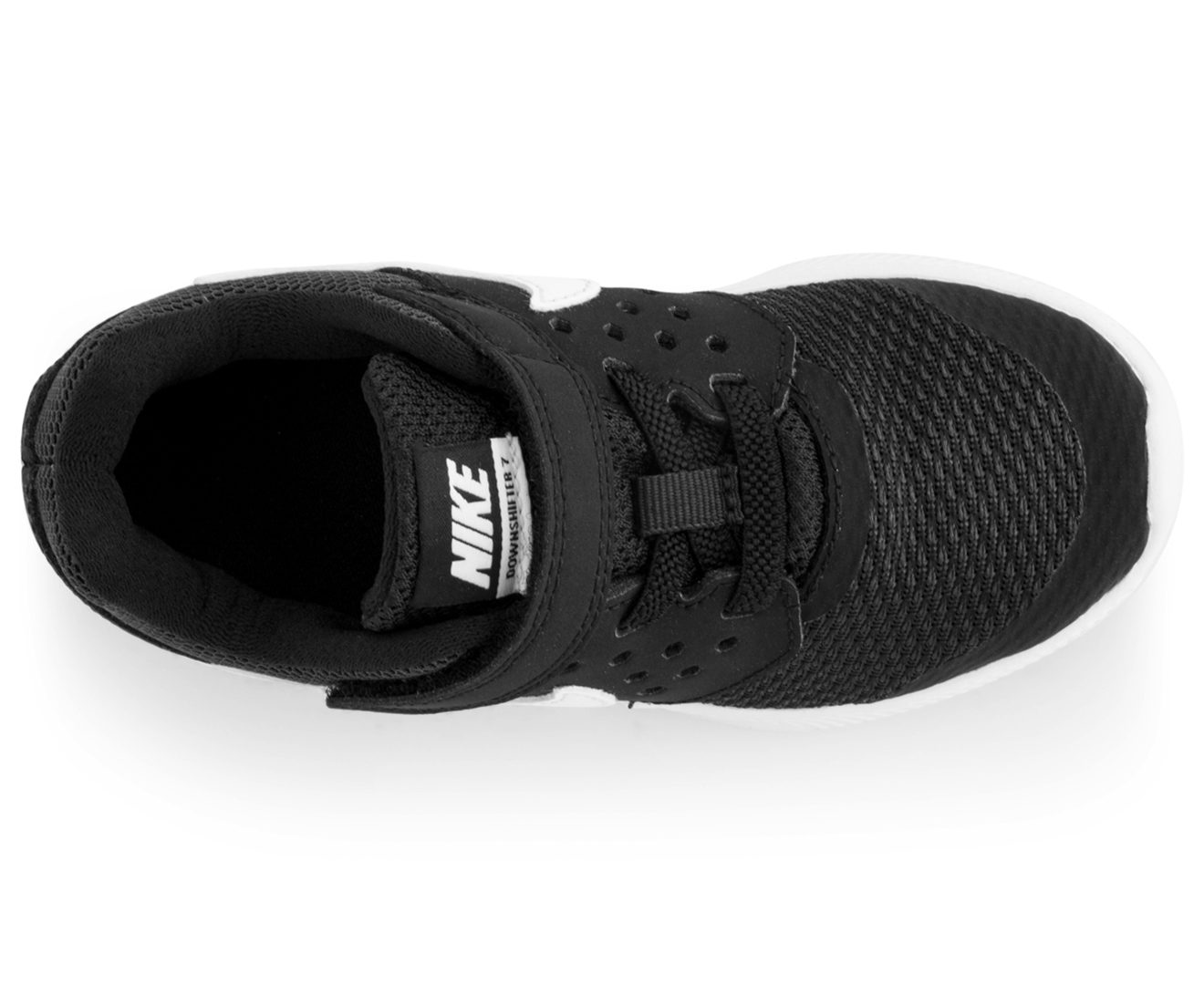 39bb0f5aadf Nike Boys  Toddler Downshifter 7 Shoe - Black White-Anthracite ...