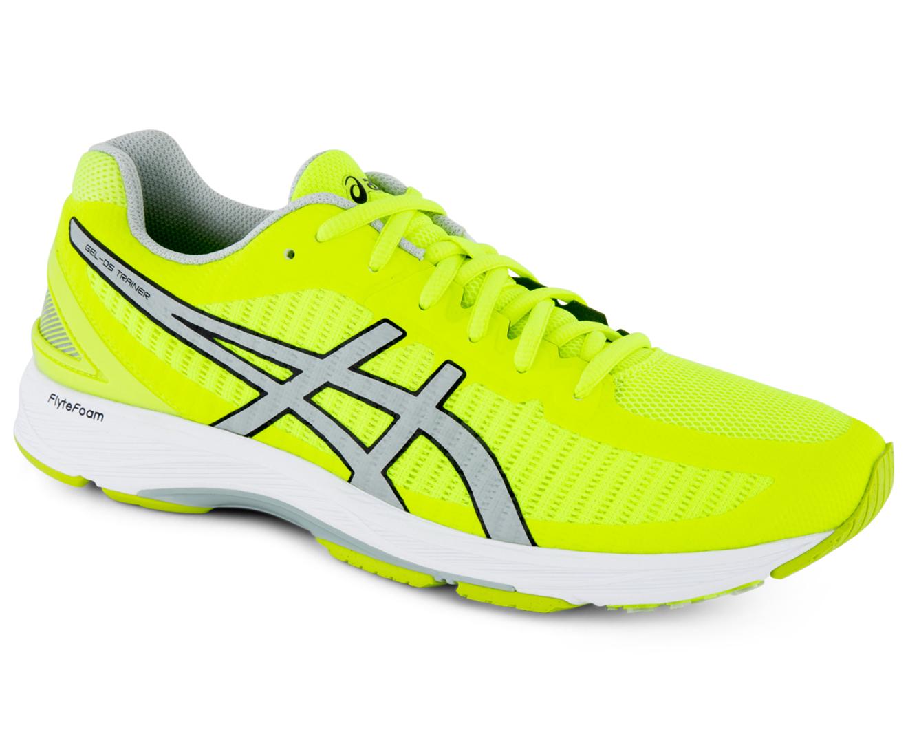 ASICS Men's GEL DS Trainer 23 Shoe Safety YellowMid Grey