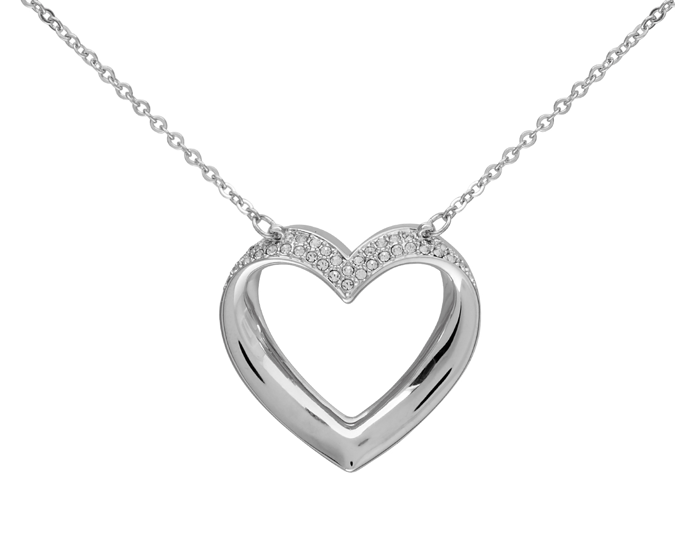 1b74b33aceb76 Swarovski® Cupidon Necklace & Earring Set - Crystal/Rhinestone ...