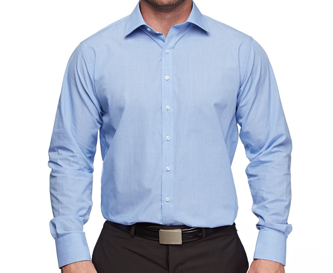 Van Heusen Mens Shirt Size Chart