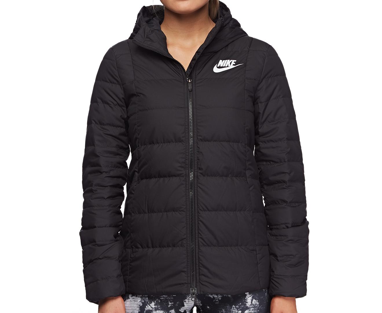 a2354c41913b Nike Women s Sportswear Down Fill Hooded Jacket - Black