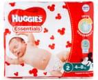 Huggies Essentials Infant Size 2 4-8kg Nappies 54pk 2